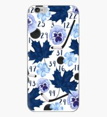 Toronto Maple Leafs Floral Design V.2 iPhone Case