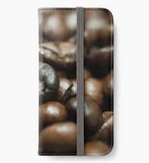 Coffee Bean Close-up iPhone Wallet/Case/Skin