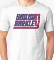 Saquon Barkley on the Giants Unisex T-Shirt