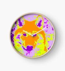 Not So Big Bad Wolf Clock