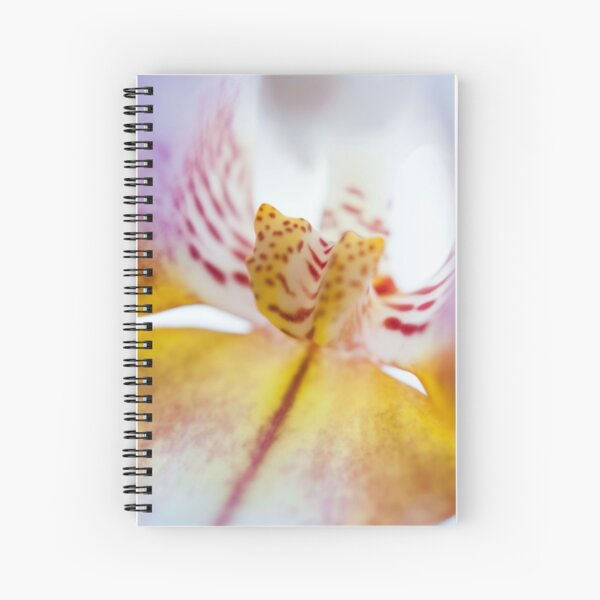 Spotted Orchid Spiral Notebook