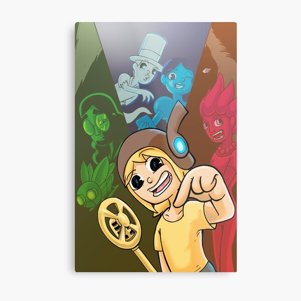 Ohmworld-Cover to Have I Got A Story for You! Metal Print