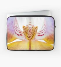 Spotted Orchid's Center Laptop Sleeve