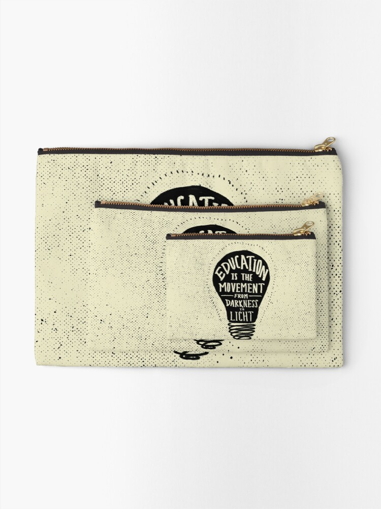 Alternate view of Education Zipper Pouch