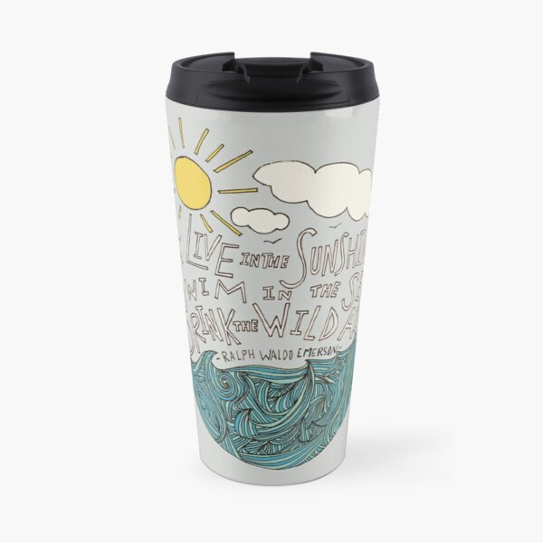 Emerson: Live in the Sunshine Travel Mug