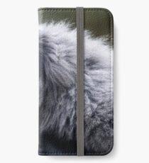 Silvery Gibbon iPhone Wallet/Case/Skin