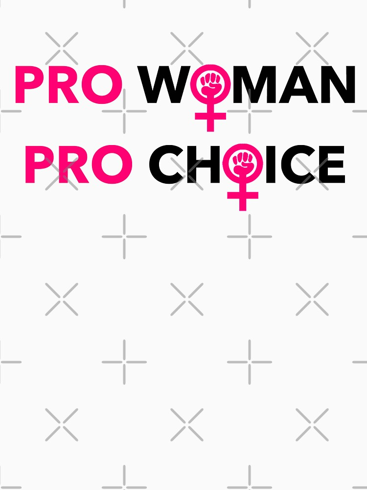 PRO WOMAN PRO CHOICE - WOMAN'S POWER FIST by Thelittlelord