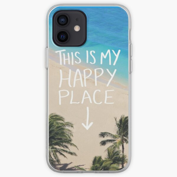 Happy Place iPhone Soft Case
