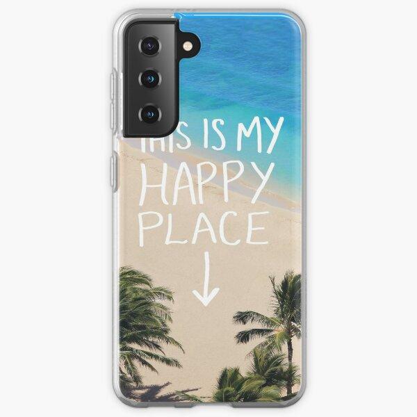 Happy Place Samsung Galaxy Soft Case