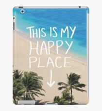 Happy Place iPad Case/Skin
