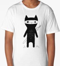 Ninja Cat Long T-Shirt