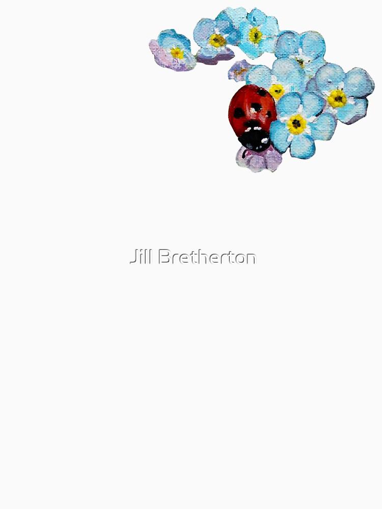 Marienkäfer und Vergissmeinnicht Design von Jimkins von JimkinsDesigns