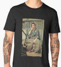 Toshiro Mifune Smoking Men's Premium T-Shirt