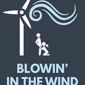Bob Dylan - Blowin' In The Wind by SQWEAR