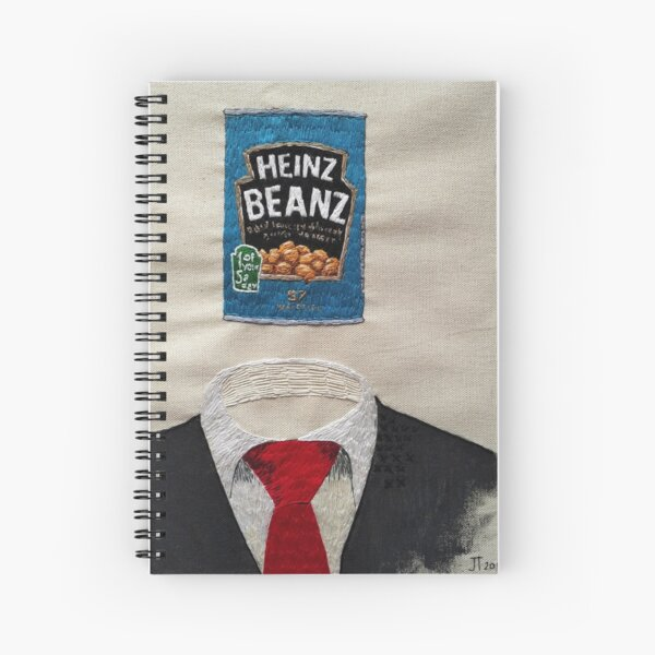 The Pillar of the Society Spiral Notebook