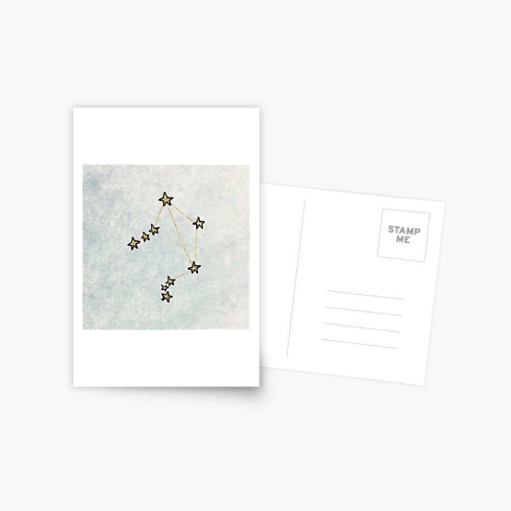 Waage x Astrologie x Sternzeichen Postkarte