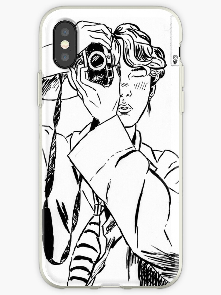 Taehyung Camera Iphone Cases Covers By Mat