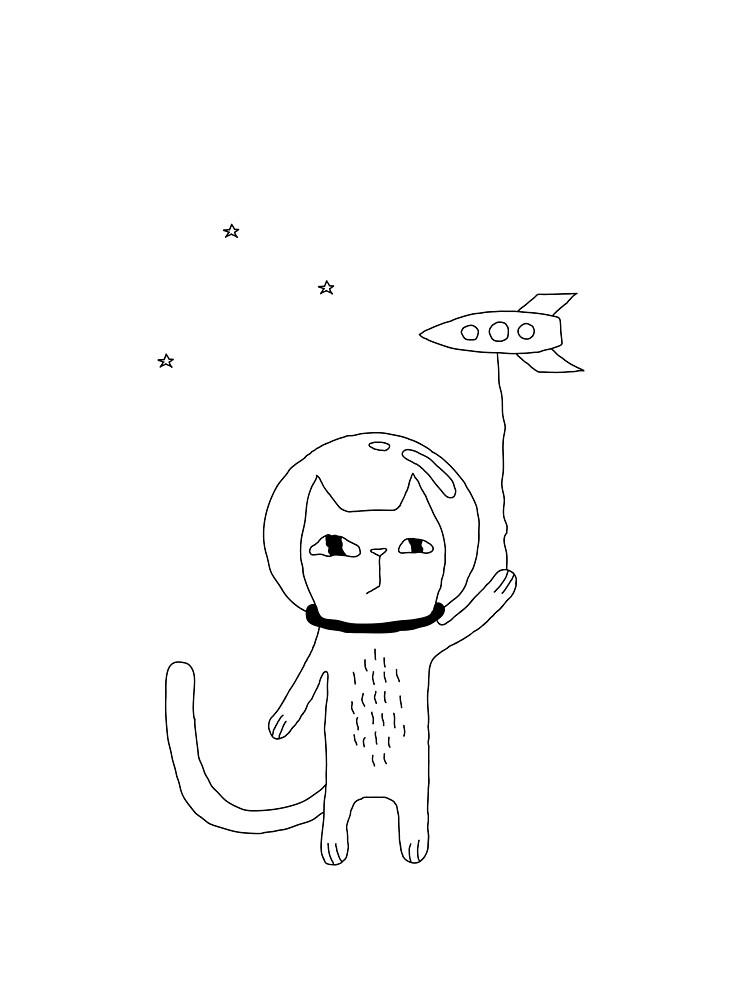 Space Cat by penarulit