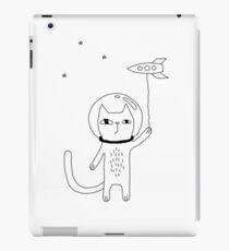 Raum Katze iPad-Hülle & Klebefolie
