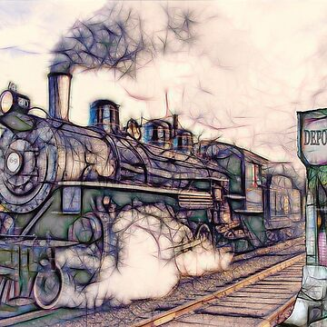 Steam Train by crimsontideguy