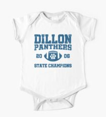 Body de manga corta Dillon High Panthers Football 2006 Campeones Estatales - FNL