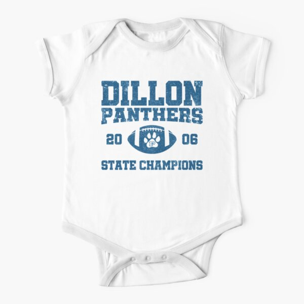 Dillon High Panthers Football 2006 State Champions - FNL Short Sleeve Baby One-Piece