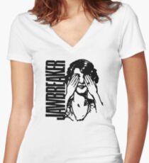 Jawbreaker Vintage Girl Women's Fitted V-Neck T-Shirt