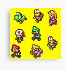 Super Mario Run Canvas Print