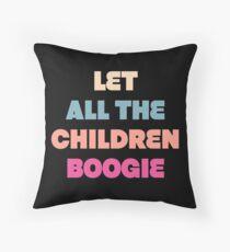 Cojín Niños Boogie - Camisas inspiradas David Bowie