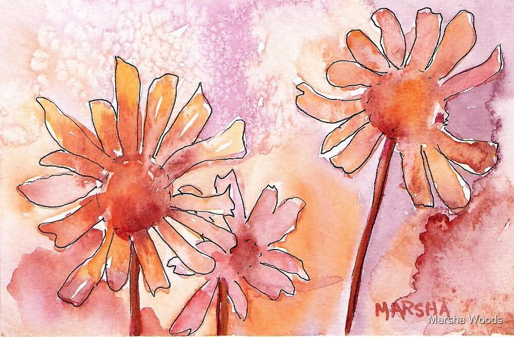 """Daisy Dancers"" by Marsha Woods"