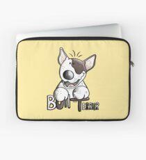 Funny Bull Terrier Comic - Dog - Dogs - Cartoon - Funny - Gift Laptop Sleeve