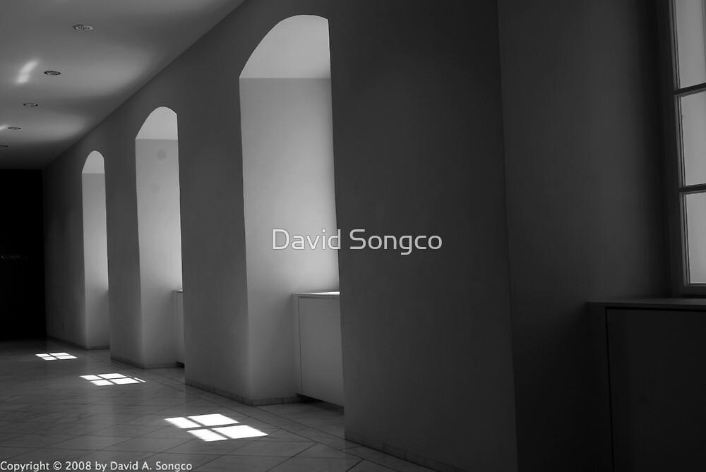 Museum Hallway by David Songco