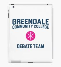 Greendale Community College Debate Team iPad Case/Skin