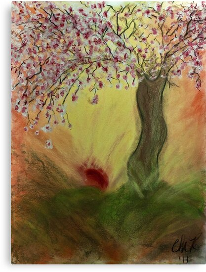 Cherry Blossom Tree of Mine, Our Rising Sun by C. Rodriguez