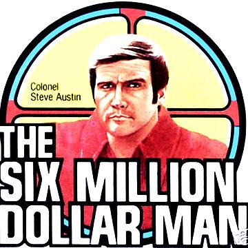 The Six Million Dollar Man - 80s TV shows by retropopdisco
