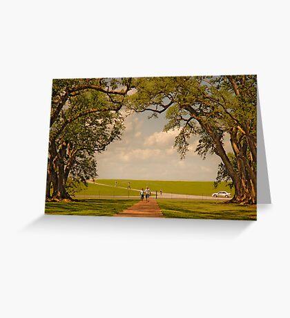 Oak Alley Plantation Greeting Card