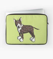 Funny Bully - Bullterrier - Bull Terrier - Dog - Dogs - Gift - Comic Laptop Sleeve