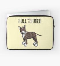 Cute Bull Terrier Comic - Bullterrier - Dog - Dogs - Gift Laptop Sleeve