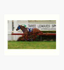 Riderless Horse Art Print