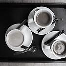 Three cups of coffee by Thaichi