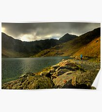 Stormclouds, Snowdonia National Park Poster