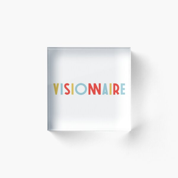 VISIONNAIRE - BIGFLO ET OLI Bloc acrylique