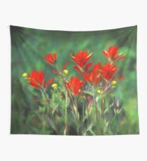 Indian Paintbrush Wall Tapestry
