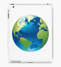 Cartography Chromatic Continents  iPad Case/Skin