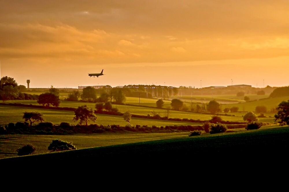 Evening Approach by Geoff Spivey