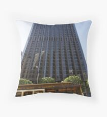 Bank of America building Throw Pillow