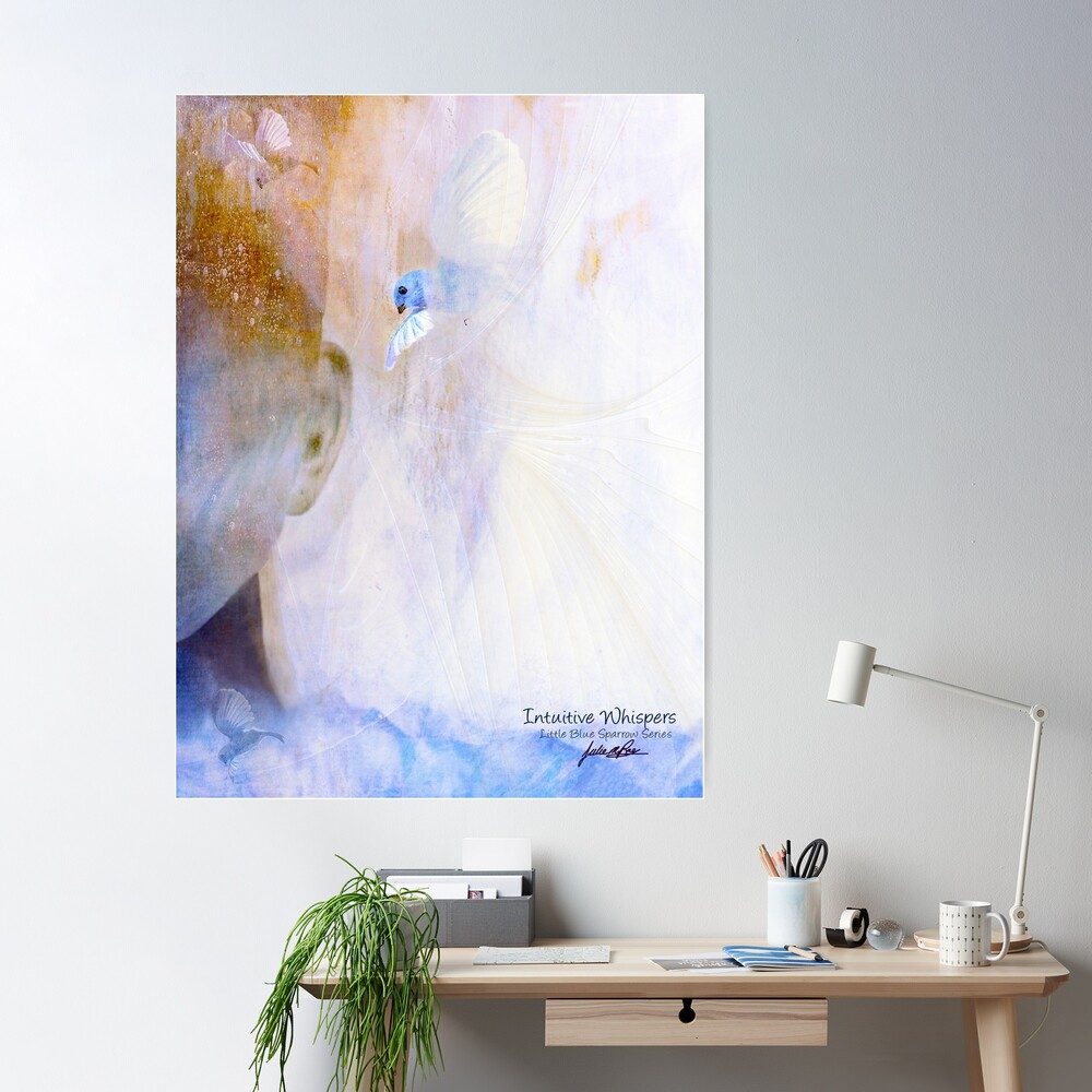 Intuitive Whispers Poster