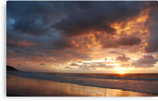 Sunrise at Crowdy Head by Graham Mewburn
