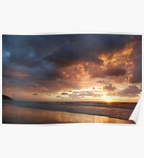 Sunrise at Crowdy Head Poster