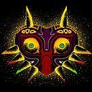 Dots of Majora's Mask by jellysoupstudio
